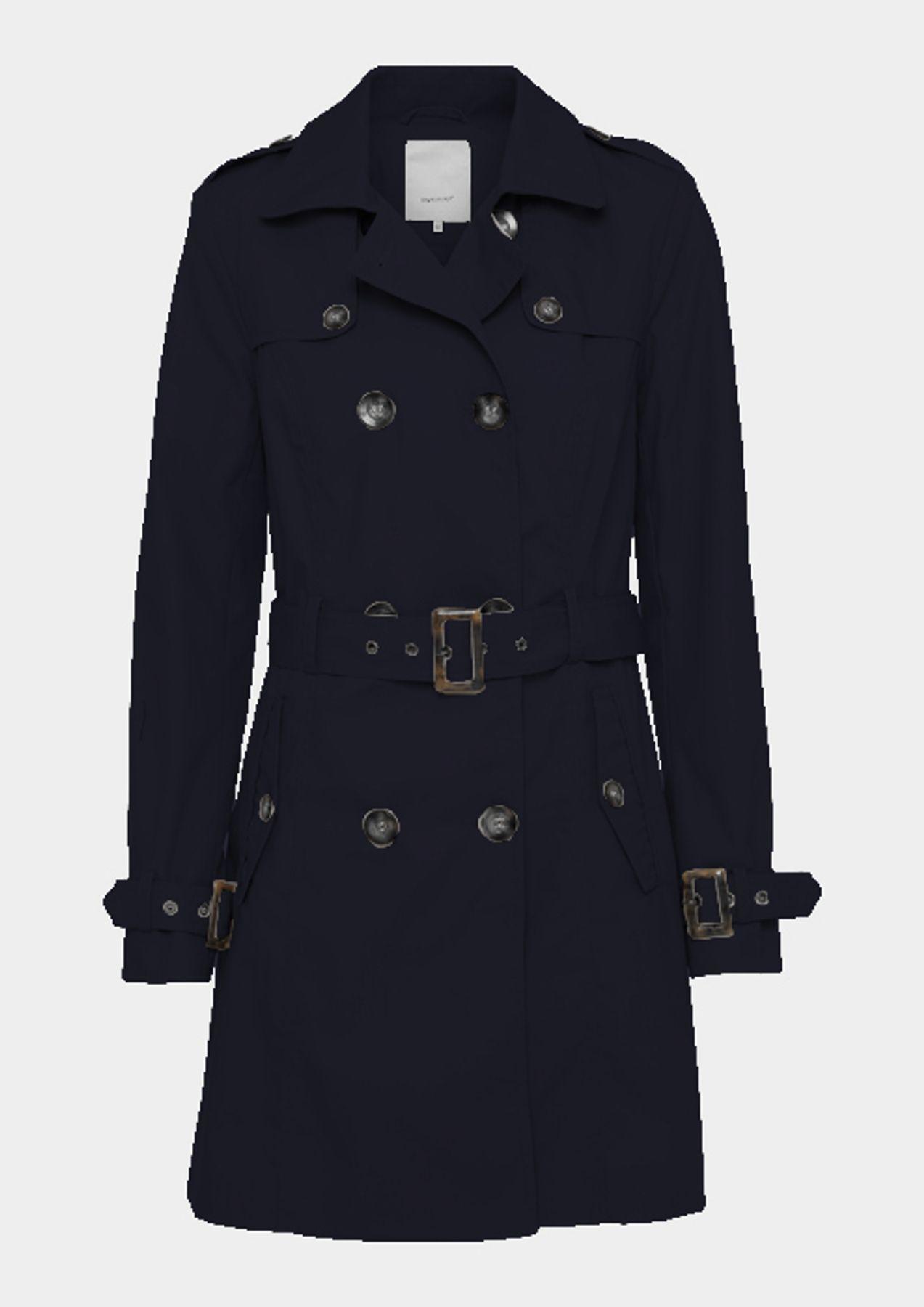 Soyaconcept - Damen Mantel / Trenchcoat in  beige oder blau, SC-Lora 2 (15427-30)