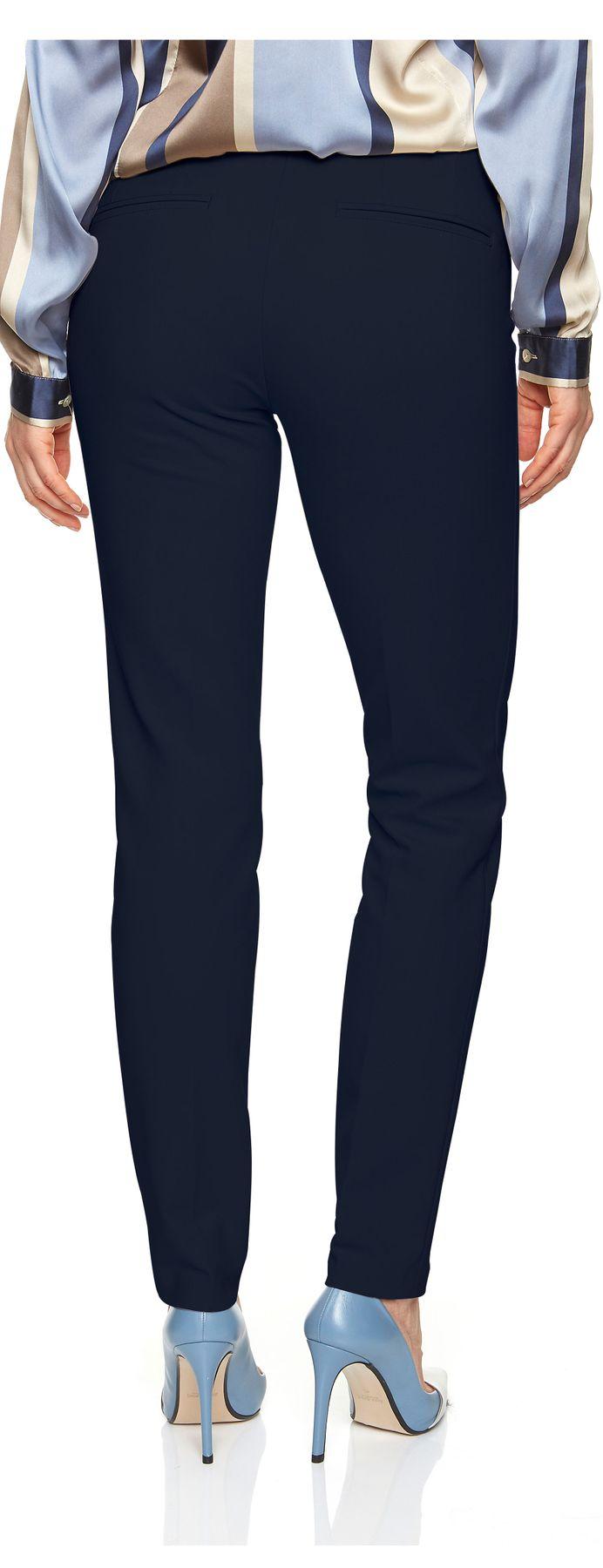 Atelier Gardeur - Slim Fit - Damen Cityhose, Zigarette in dunkelblau, Zene1 (600261) – Bild 4