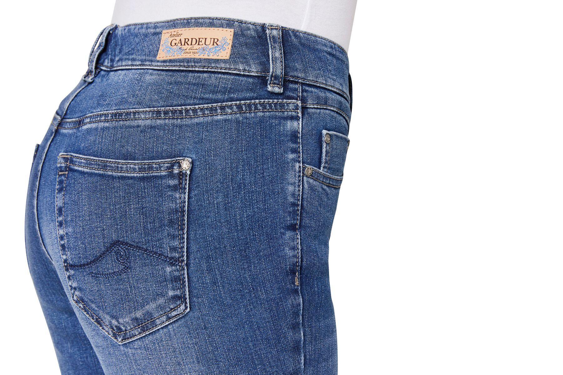 Atelier Gardeur - Slim Fit - Damen 5-Pocket Jeans Röhrenhose Zuri90 (670401) – Bild 3
