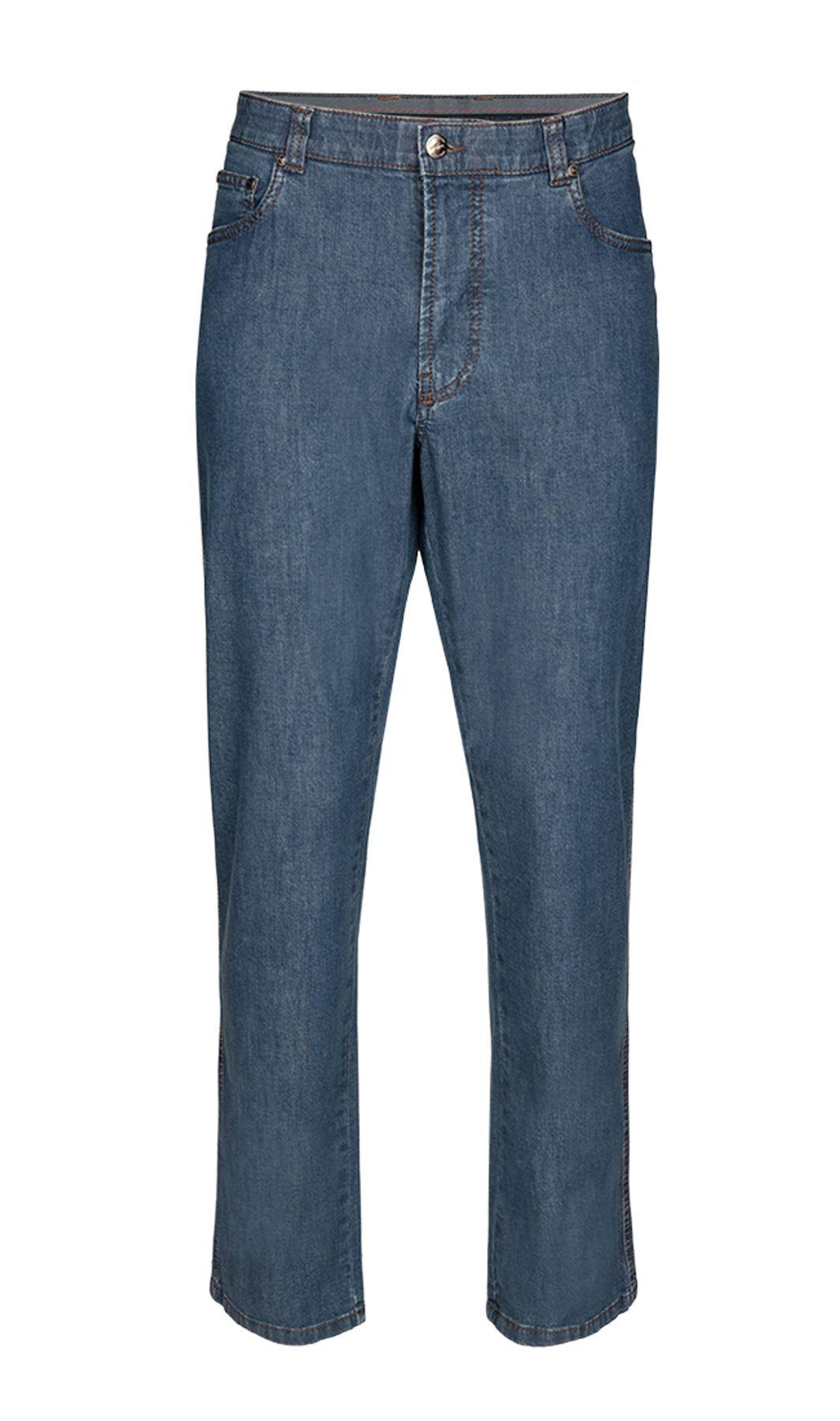 Brühl - Comfort Fit - Herren 5-Pocket Jeans, Genua (0011003163100) – Bild 1
