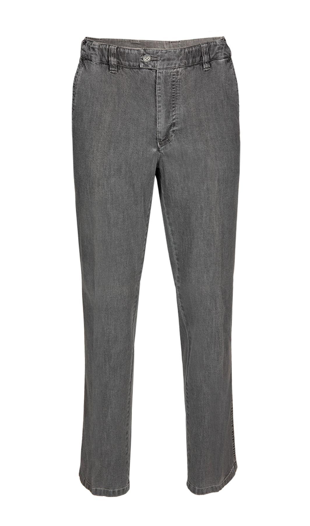 Brühl - Comfort Fit - Herren Flatfront Hose mit Spezialbund, Pavia Tr (0021003163100) – Bild 1