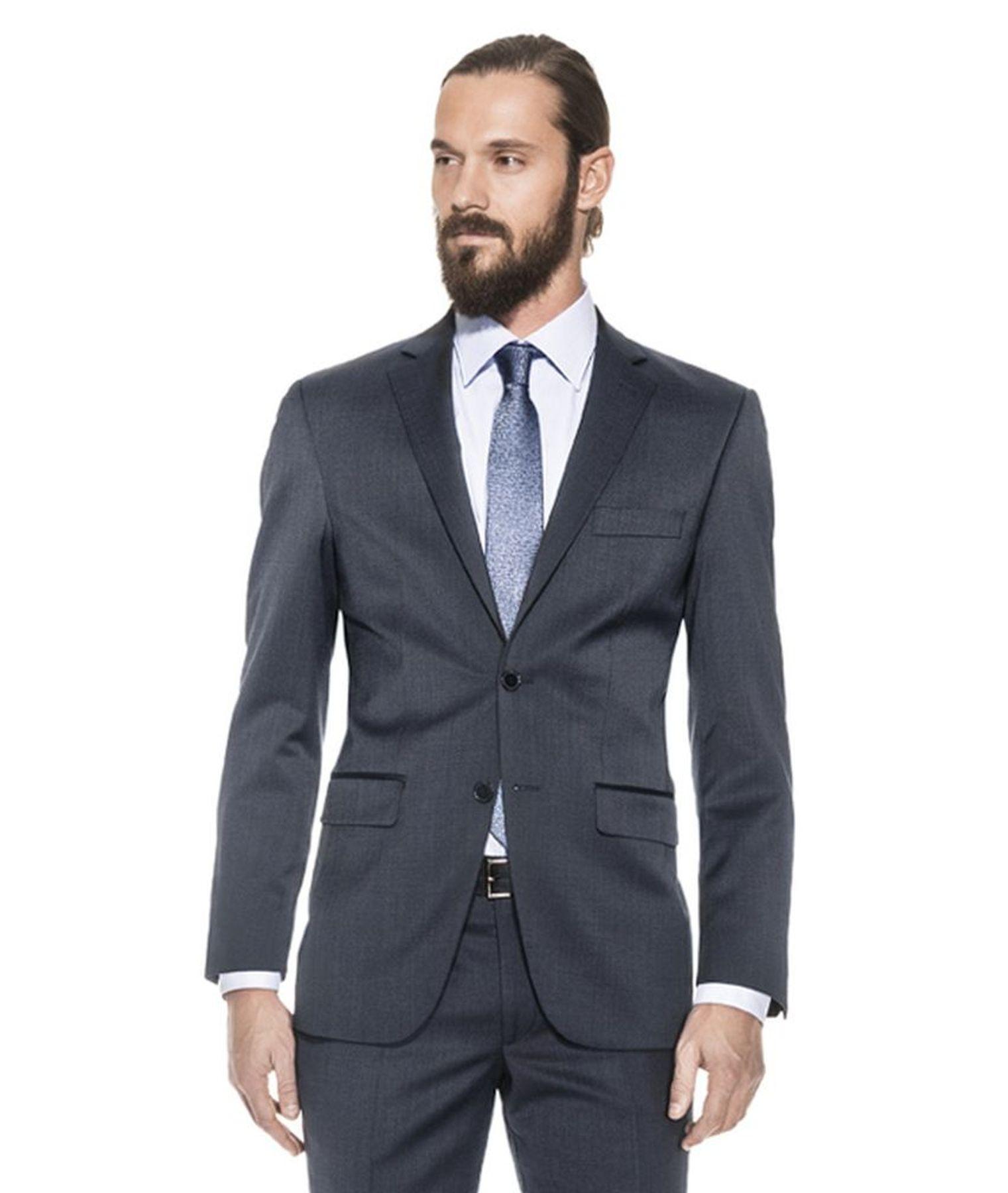 Benvenuto Purple - Regular Fit - Herren Baukasten Sakko für modernen Business-Anzug, Leonardo (20659, Modell: 20002) – Bild 1