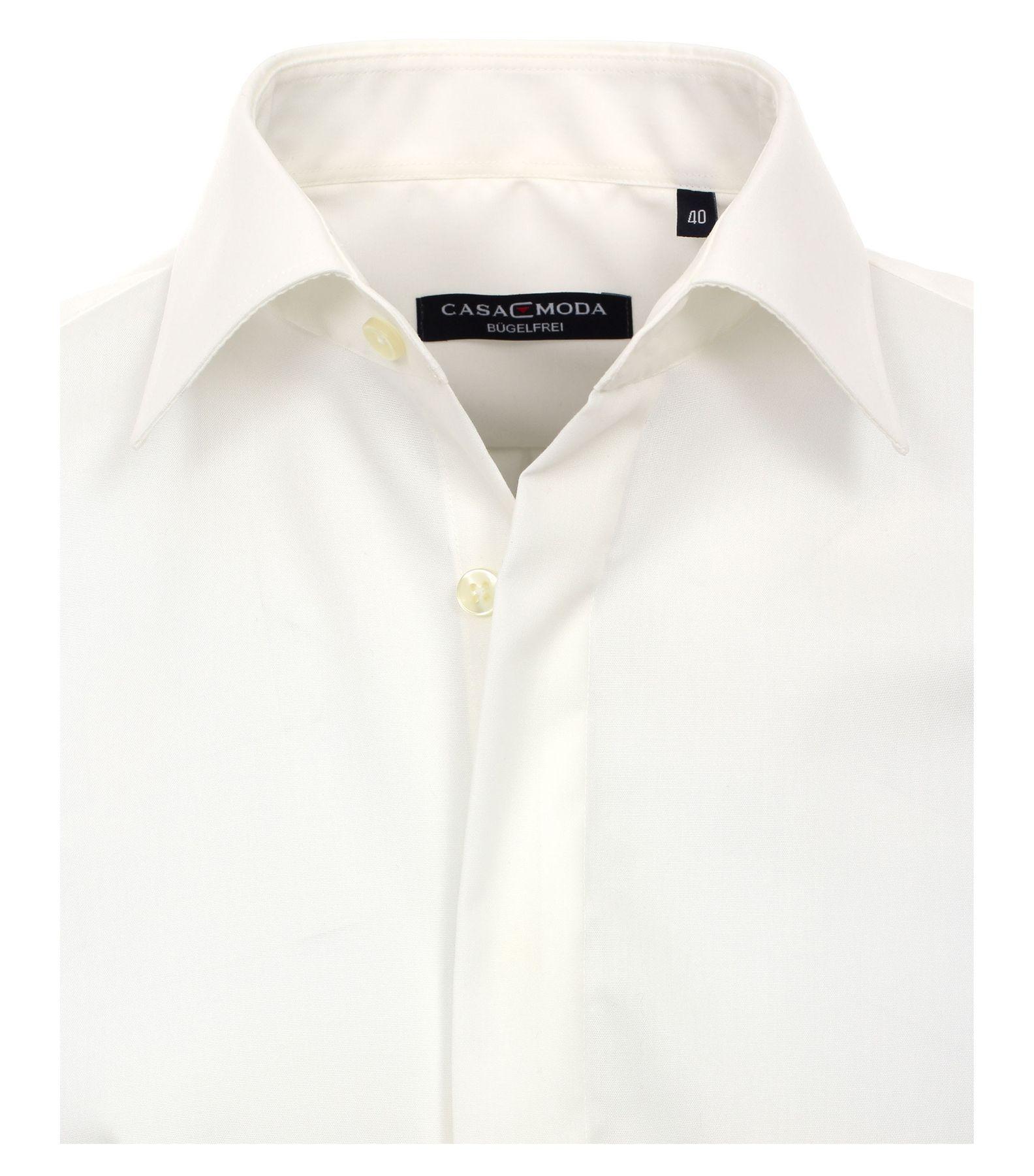 Bundle - Casa Moda - Evening - Festliches Bügelfreies Herren Hemd, weiß und creme (005335) – Bild 7