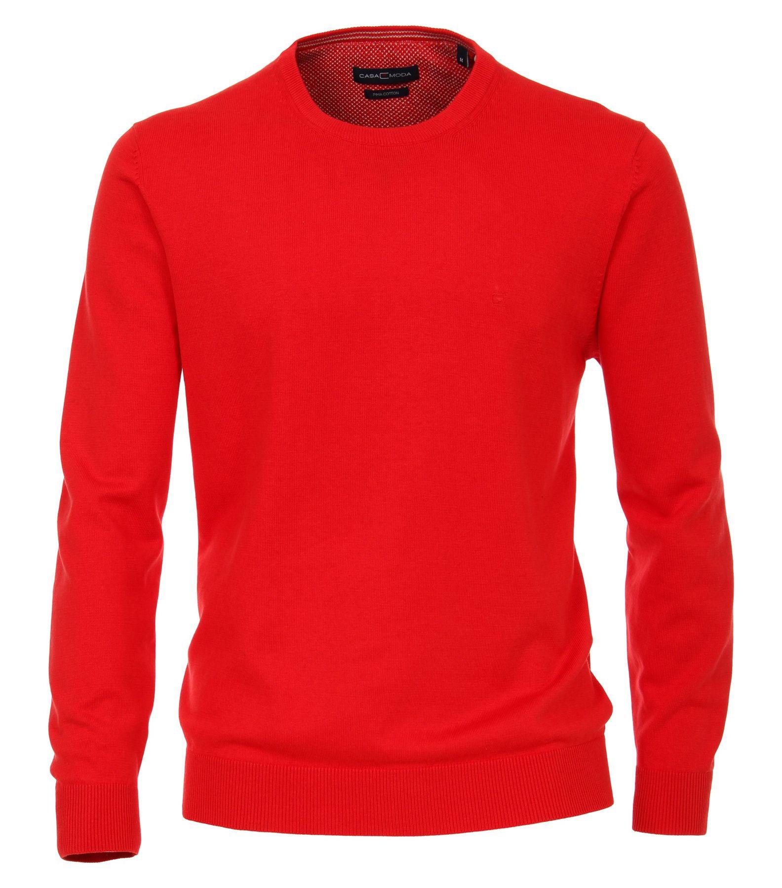 Bundle - Casa Moda - Herren Pullover mit Rundhals-Ausschnitt unifarben in verschiedenen Farben (004420) – Bild 3