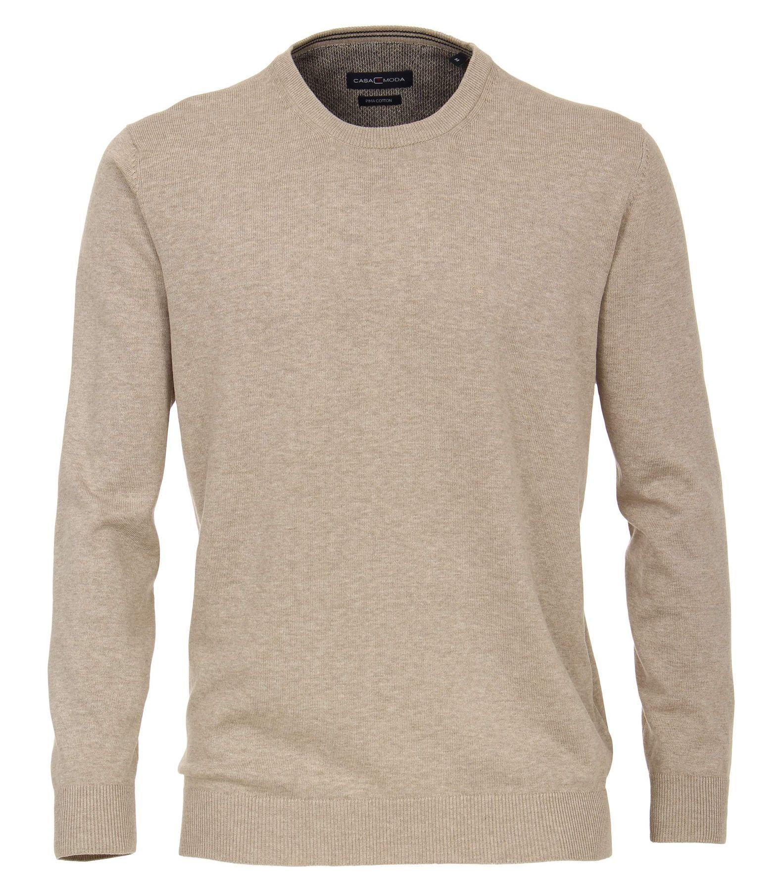 Bundle - Casa Moda - Herren Pullover mit Rundhals-Ausschnitt unifarben in verschiedenen Farben (004420) – Bild 4