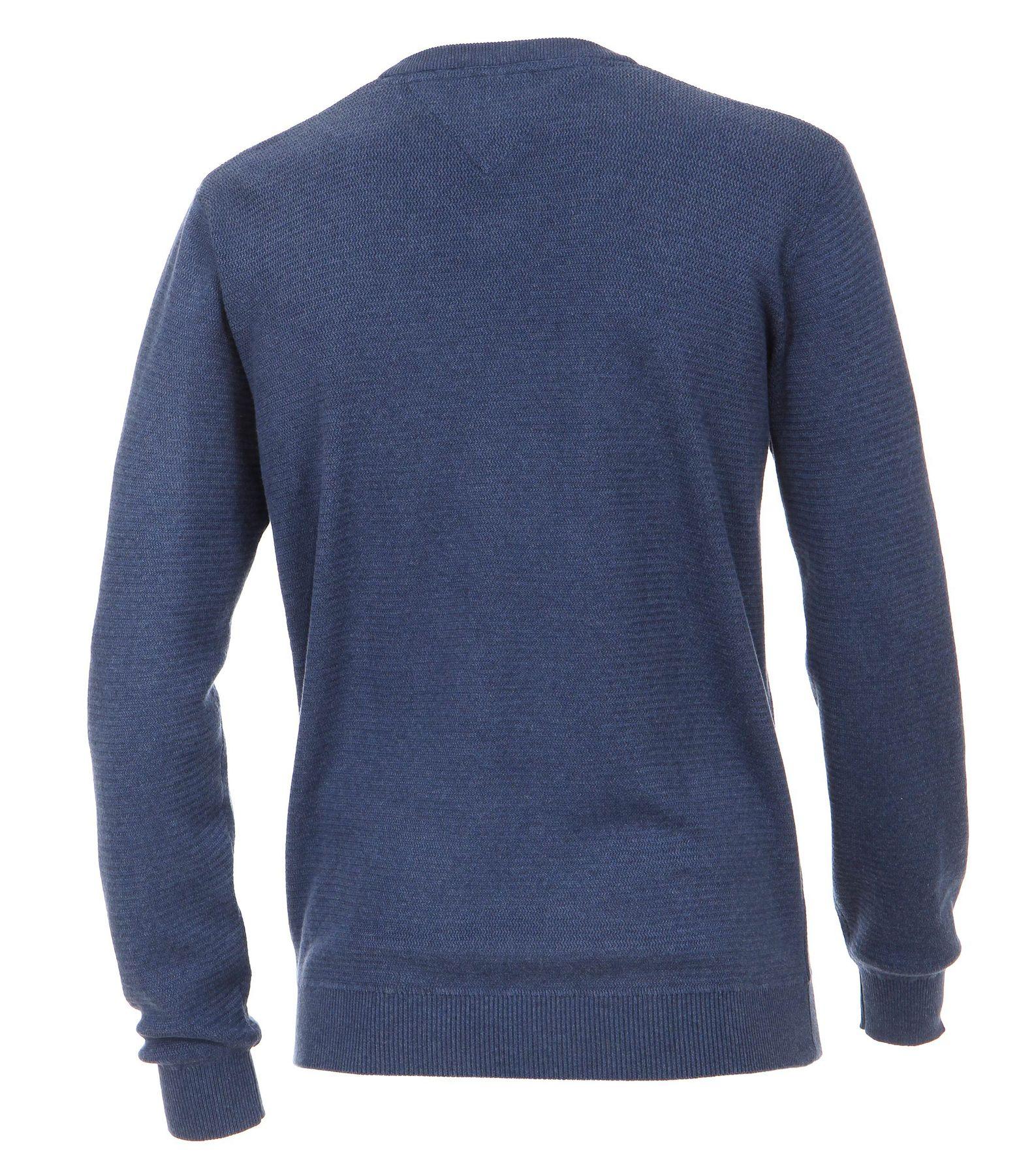 Casa Moda - Herren Pullover mit V-Ausschnitt in Melange Optik (462521200A) – Bild 8