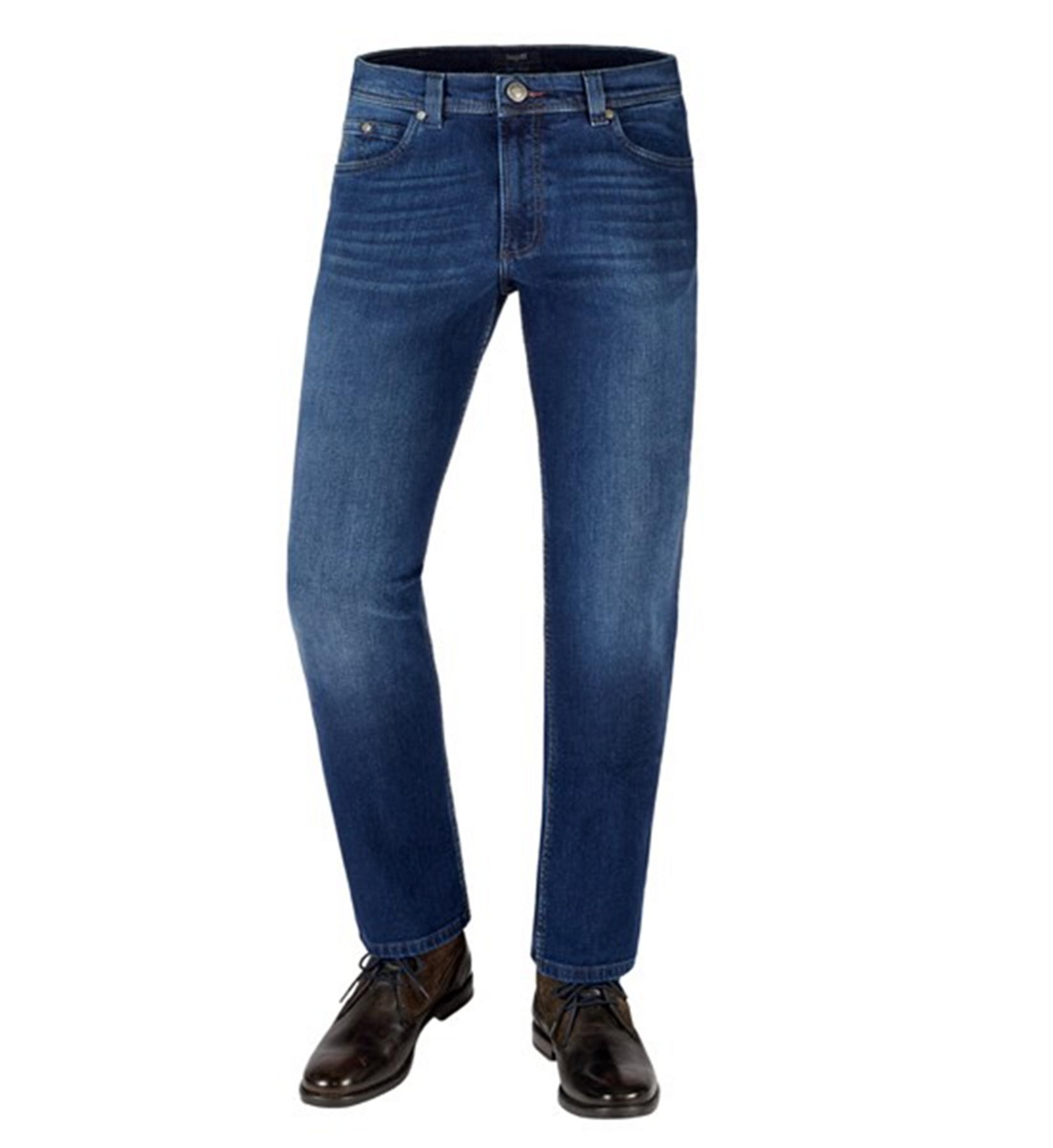 Bugatti - Herren Jeans, Five Pocket-Hose in Regular Fit mit modischer Used-Waschung (Art. Nr.: 3280D-16641) – Bild 1
