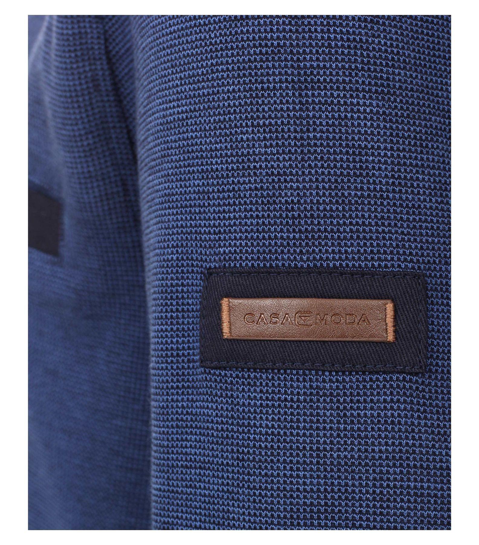 Casa Moda - Herren Troyer aus 100 % Baumwolle und mit abgesetztem Kragen (462522300 A) – Bild 2