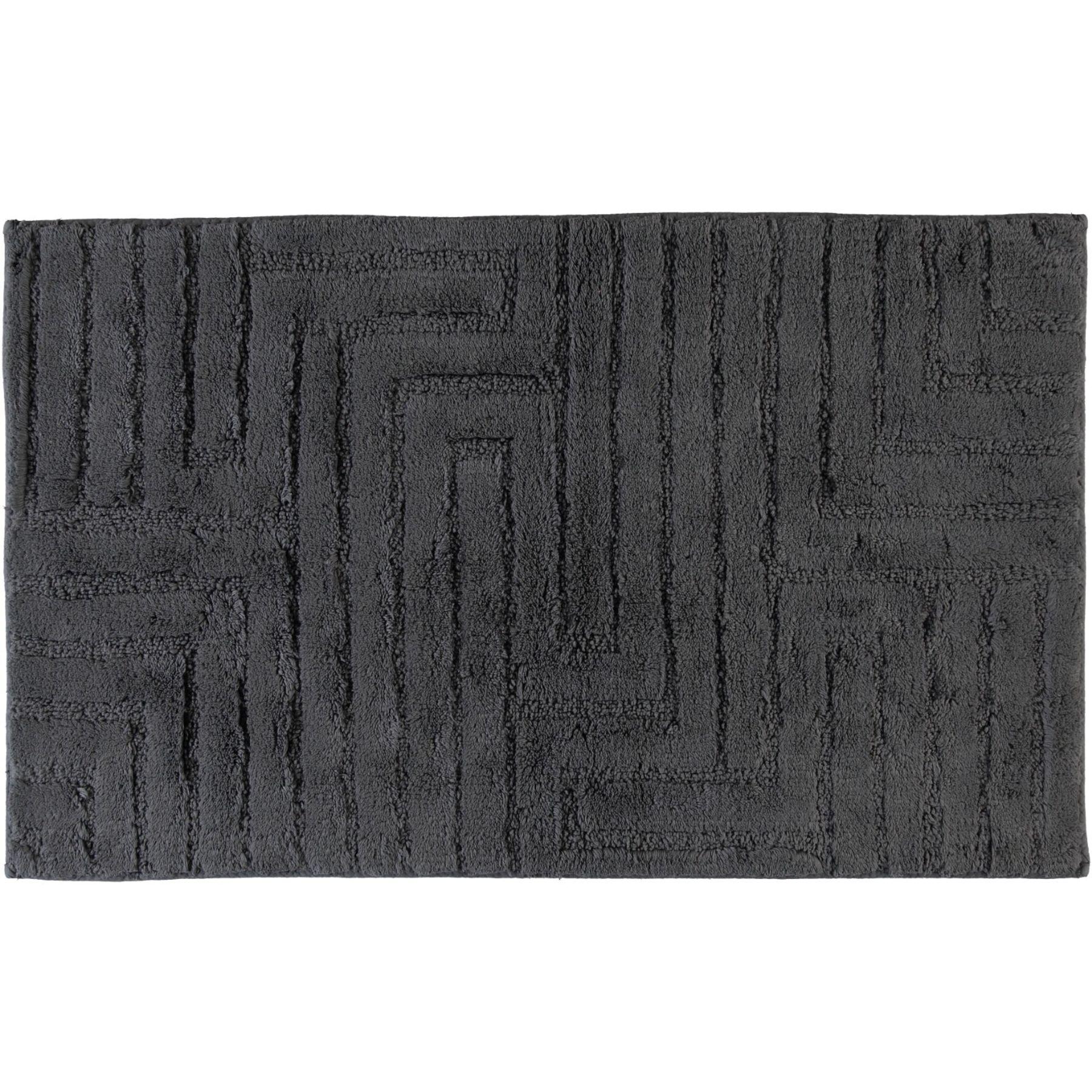 Cawö - Unifarbener Badteppich mit Struktur  in verschiedenen Farben und Größen (1004) – Bild 1