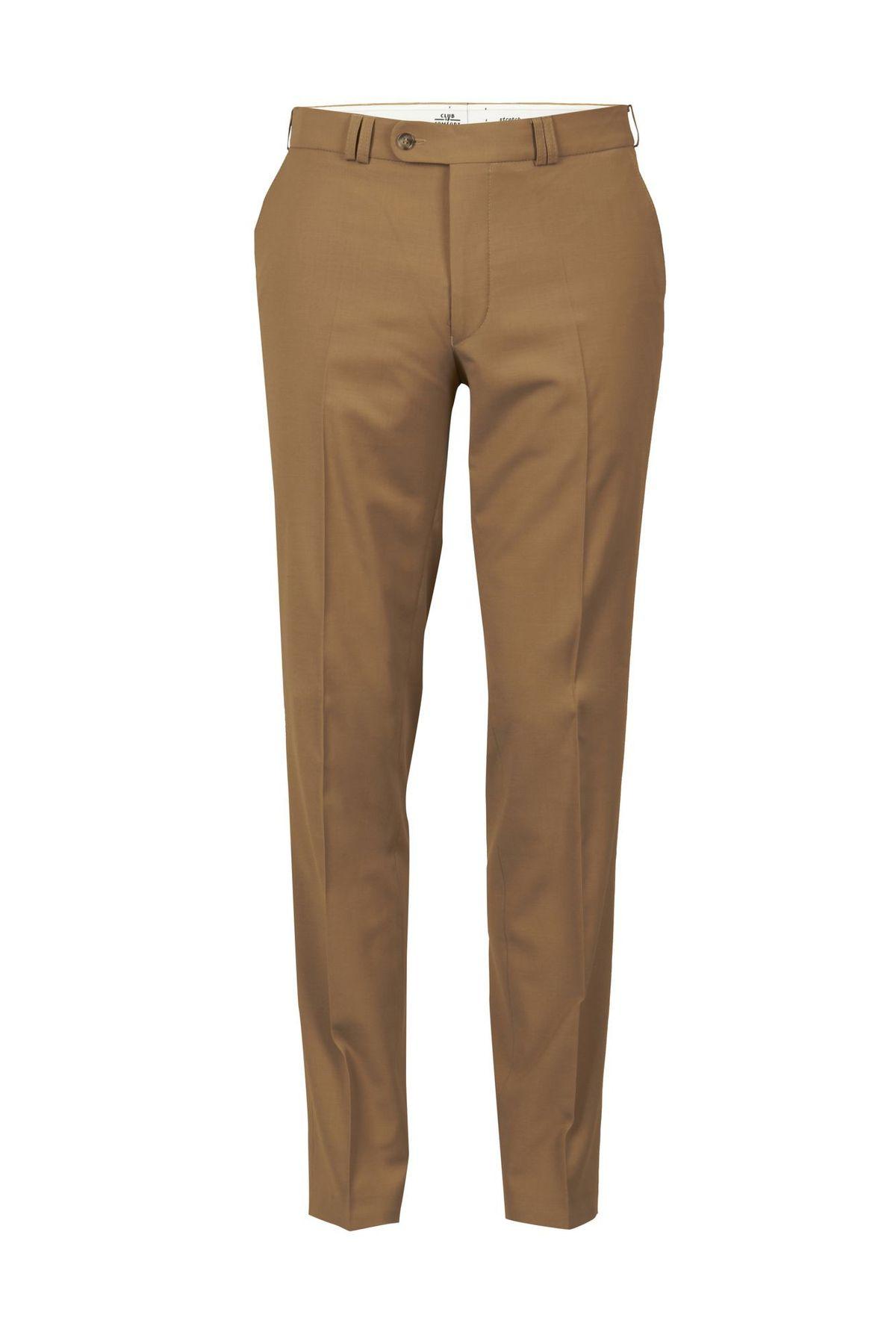 Club of Comfort - Herren Flat Front Hose mit Schurwolle in sechs Farben, Santos (4118) – Bild 7