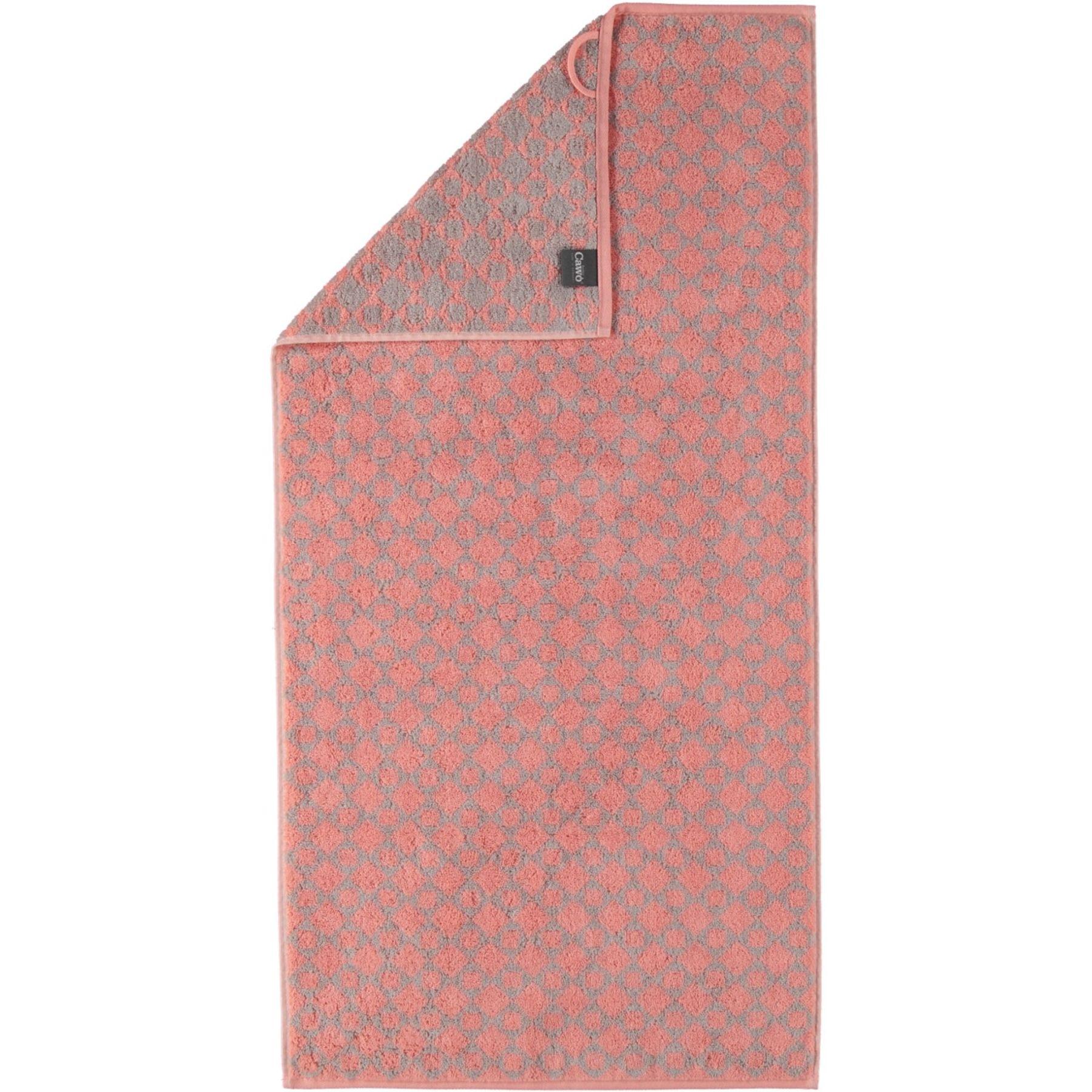 Cawö - Frottier Handtuch / Gästetuch mit Diamant Muster in verschiedenen Farben und Größen (585) – Bild 5