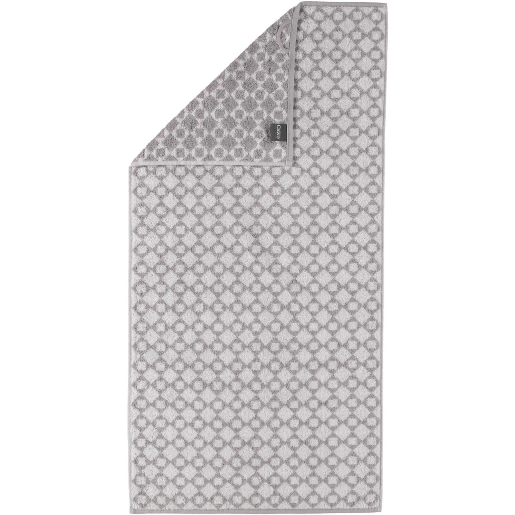 Cawö - Frottier Handtuch / Gästetuch mit Diamant Muster in verschiedenen Farben und Größen (585) – Bild 1