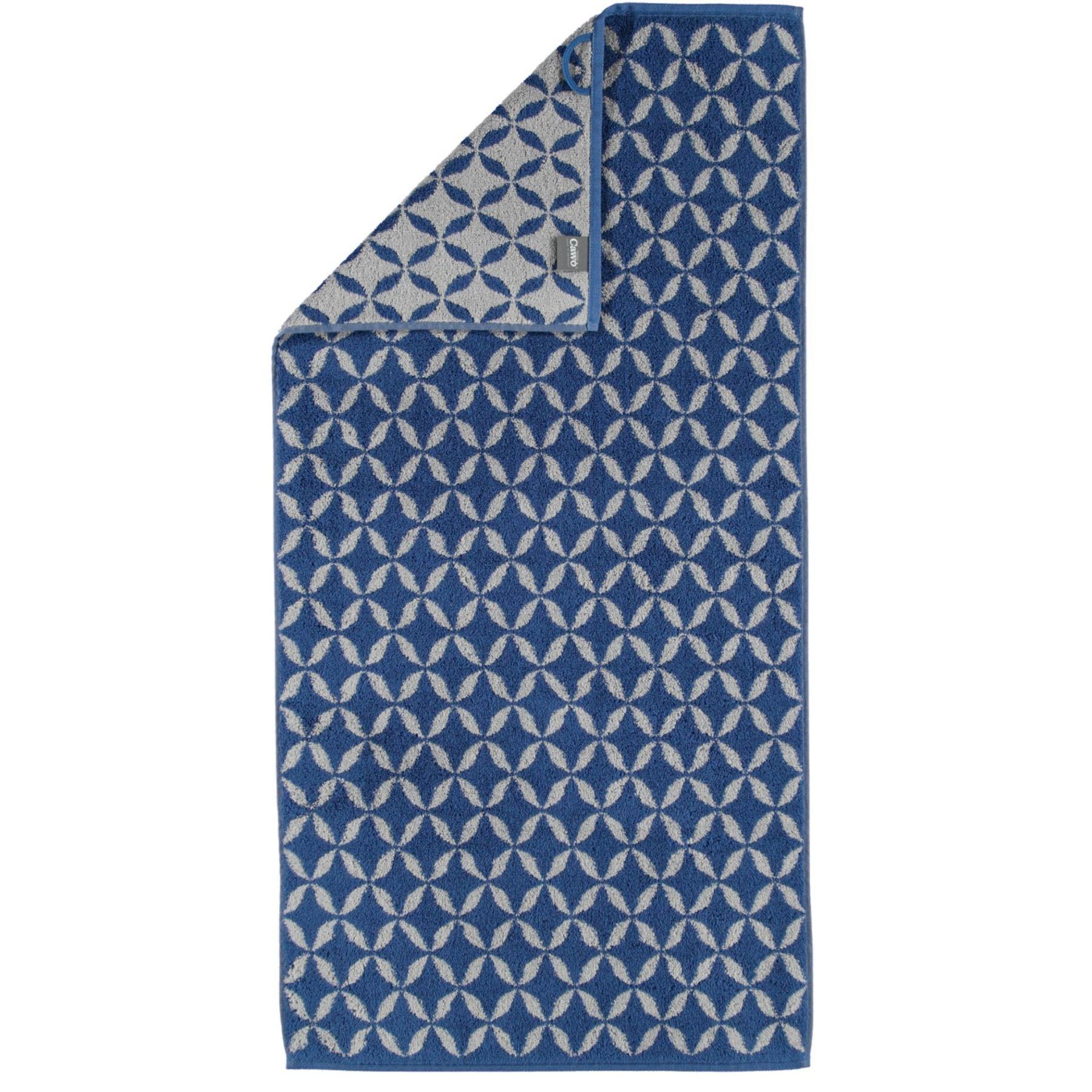 Cawö - Frottier Handtuch im Shades/ Ornament Muster in verschiedenen Farben und Größen (597) – Bild 1