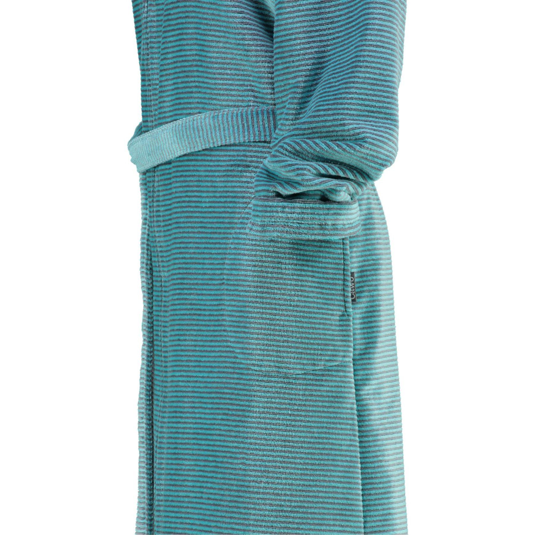 Cawö - Damen Bademantel mit Kapuze in versch. Farben (6432) – Bild 10