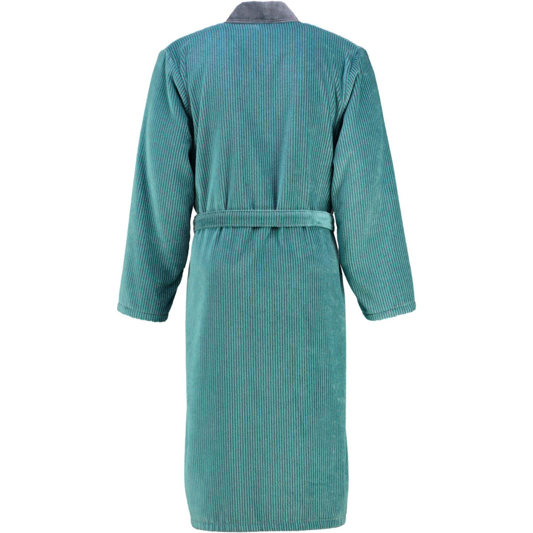 Cawö - Herren Velours Bademantel in Kimono Form (5840) – Bild 2