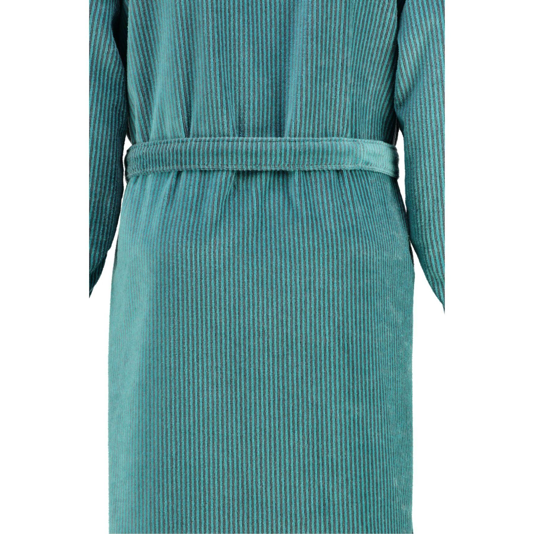 Cawö - Herren Velours Bademantel in Kimono Form (5840) – Bild 4