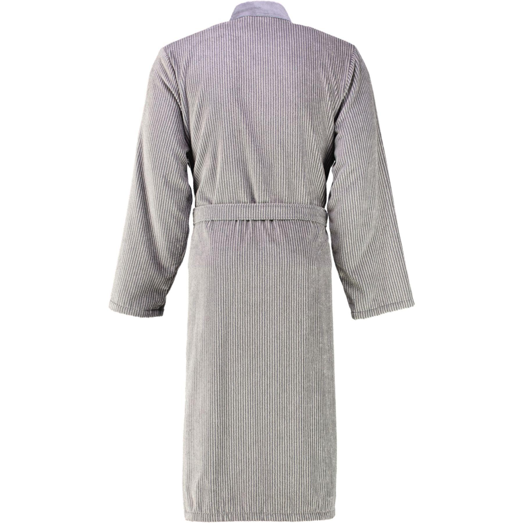 Cawö - Herren Velours Bademantel in Kimono Form (5840) – Bild 7