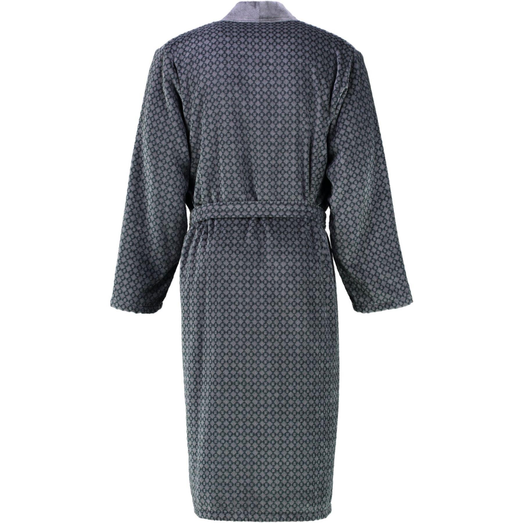 Cawö - Herren Velours Bademantel in Kimono Form (6843) – Bild 2