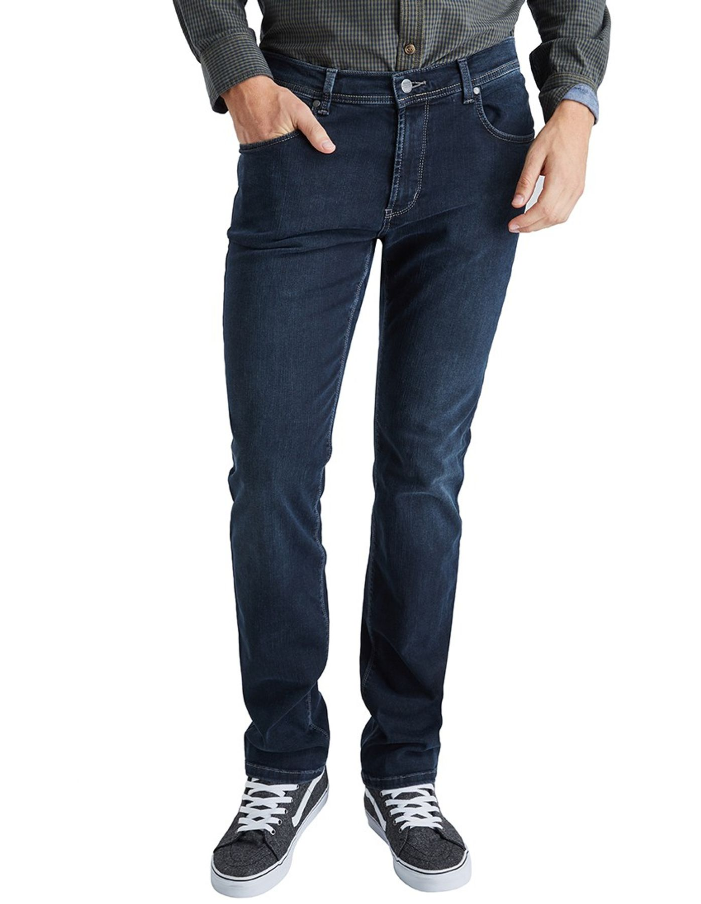Pioneer - Herren 5-Pocket Jeans in der Farbe dark used, Regular Fit, Rando (1680 9886 14) – Bild 1