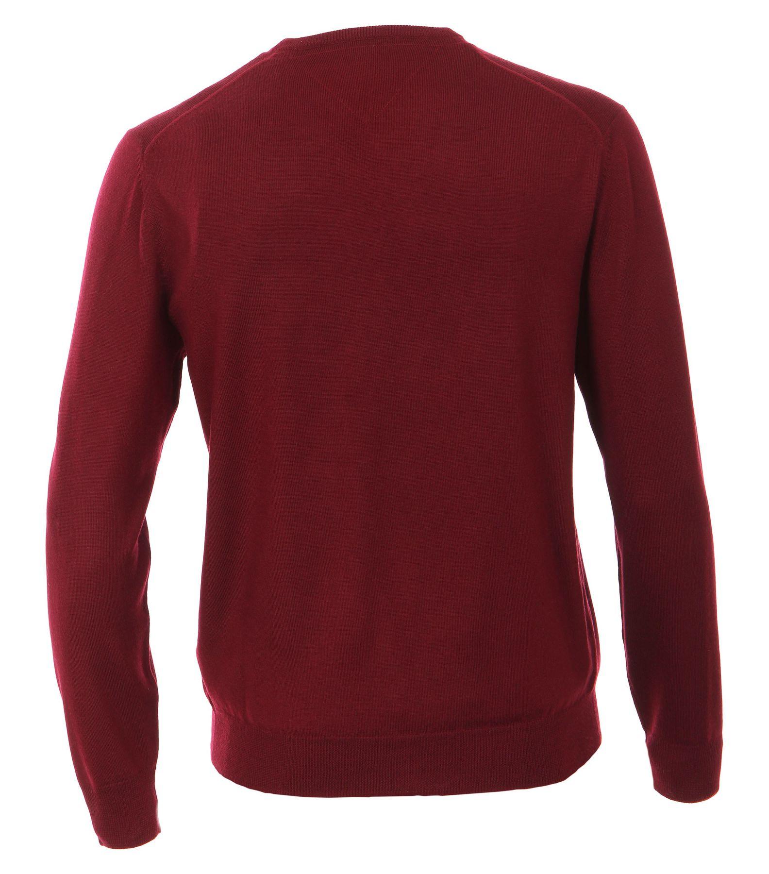 Casa Moda - Herren Pullover aus 100% Baumwolle mit V-Ausschnitt (462519900A) – Bild 11
