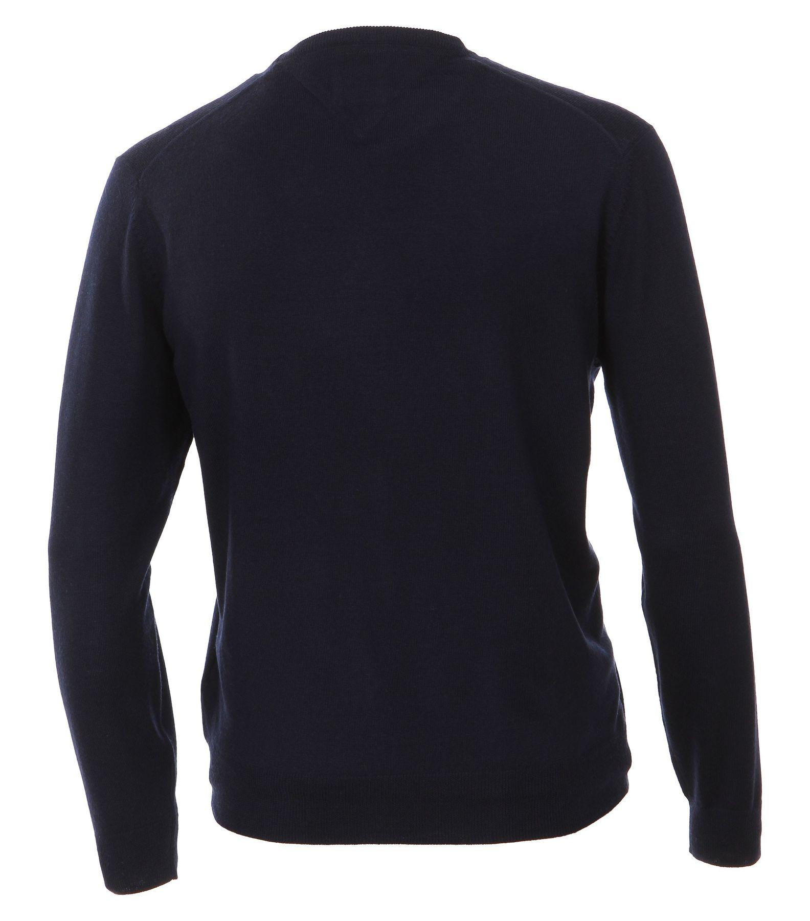 Casa Moda - Herren Pullover aus 100% Baumwolle mit V-Ausschnitt (462519900A) – Bild 2