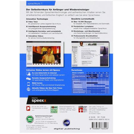 DIGITAL PUBLISHING Interaktive Sprachreise Sprachkurs 1 English + Headset – Bild 2
