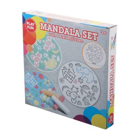 FUN PLAY 2758371 Mandala Set inkl. 6 Kreidestücken – Bild 1