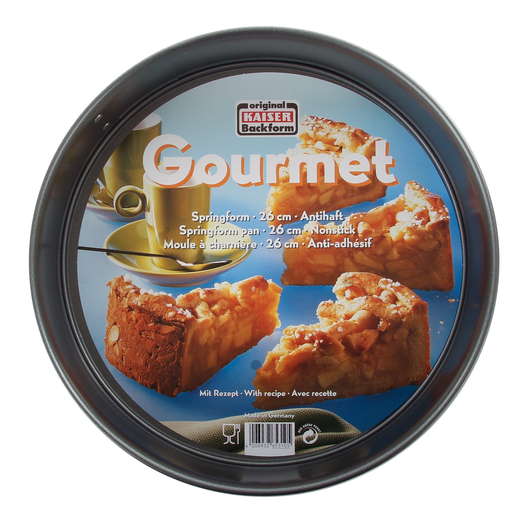 KAISER Springform 26cm Gourmet Sopro 653105 Bild https://cdn03.plentymarkets.com/zsy4vjx32p87/item/images/5064/full/4006932653105-ama-01.JPG
