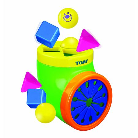 TOMY 6633 - Be Baby - Happy Shape Sorter – Bild 1
