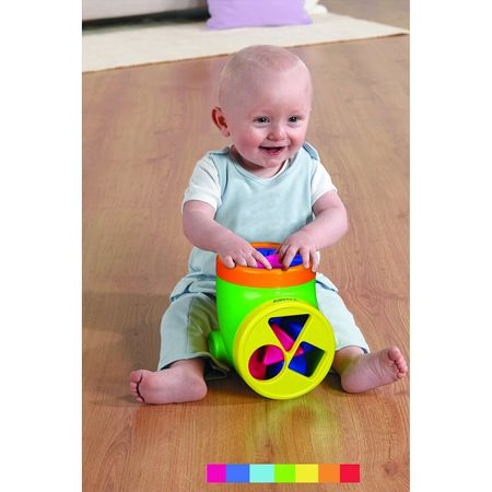 TOMY 6633 - Be Baby - Happy Shape Sorter – Bild 3