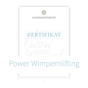Wimpernlifting Schulung München Samstag 15.12.18 1