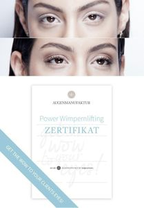 Wimpernlifting Schulung Ludwigsburg Montag 22.10.18 2