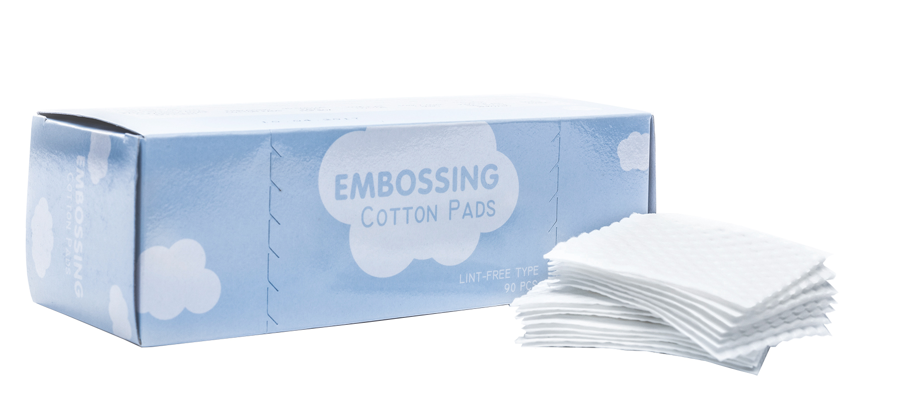 Lint free cotton pads