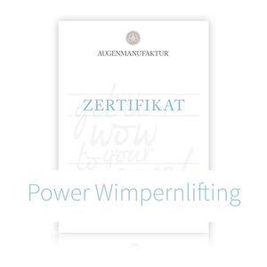 Wimpernlifting Schulung Potsdam Samstag 24.11.18 1