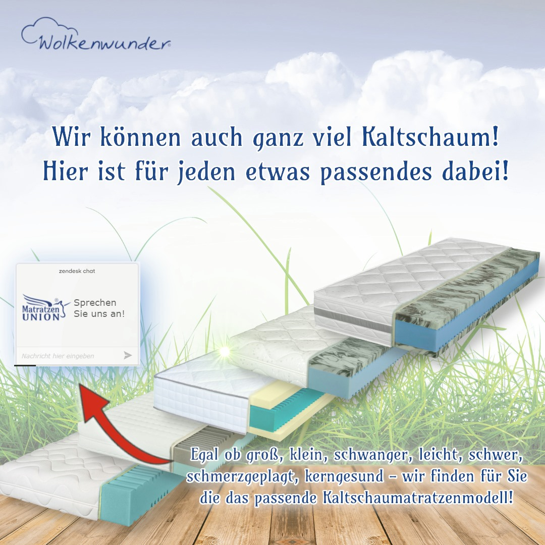 Kaltschaum Klassiker Wolkenwunder