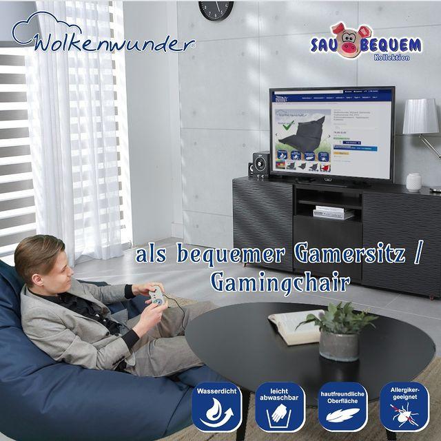 Wolkenwunder Sitzsack Gamersitz