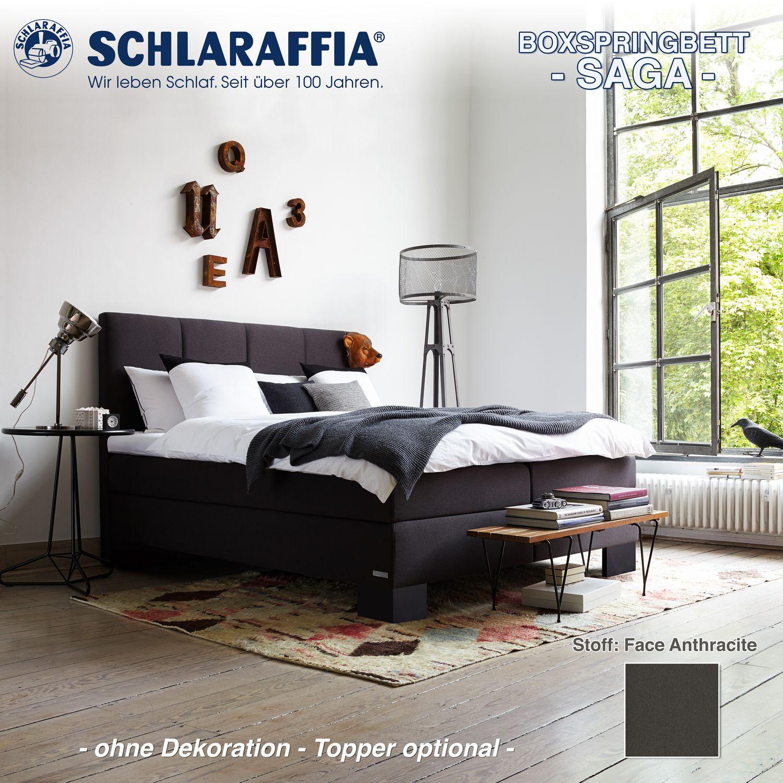 schlaraffia boxspringbett saga bettkasten 180x200 cm. Black Bedroom Furniture Sets. Home Design Ideas