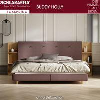 Schlaraffia Buddy Holly Boxspringbett 180x200 cm Plattform-Box inkl. Topper - Ausstellungsstück – Bild $_i