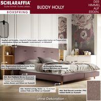 Schlaraffia Buddy Holly Boxspringbett 180x200 cm Plattform-Box inkl. Topper - Ausstellungsstück Bild 3
