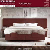 Schlaraffia Casanova XL Nachtschrank Eiche Box Cubic Boxspringbett 180x200 cm – Bild $_i