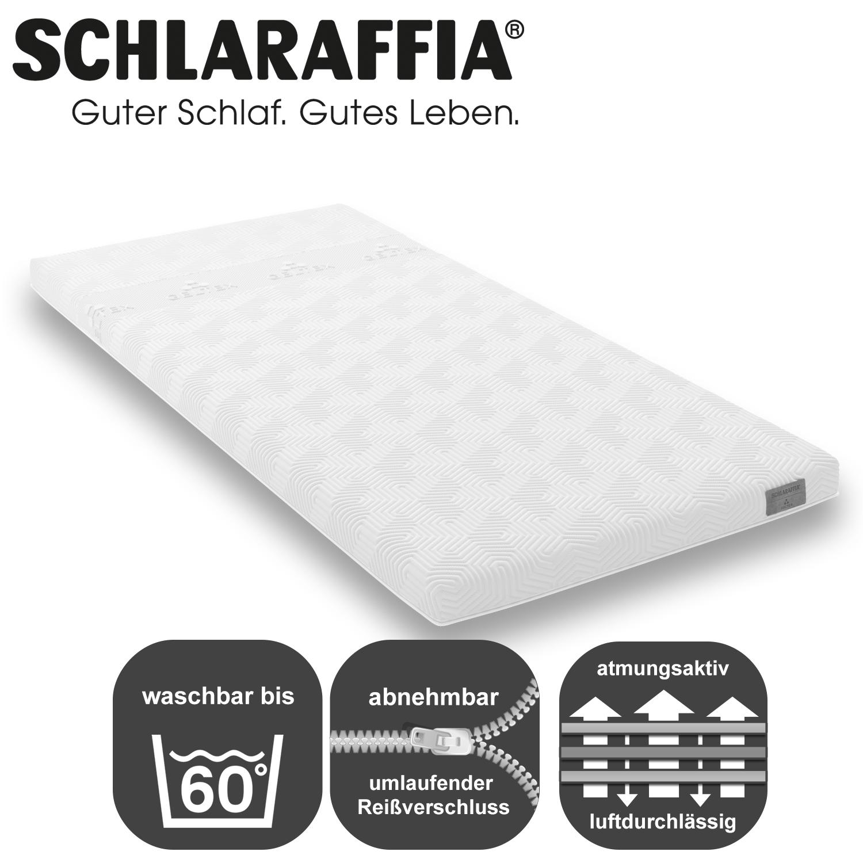 schlaraffia geltex topper qt. Black Bedroom Furniture Sets. Home Design Ideas