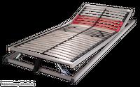 Schlaraffia Classic 28 Gasdruck 5-Zonen verstellbarer Lattenrost 100x190 cm