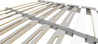 Schlaraffia Classic 28 Plus KF (NC-17) verstellbarer 5-Zonen Lattenrost 100x190 cm Bild 5
