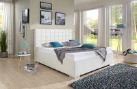 Breckle Polsterbett Baxter Comfort Kunstleder weiß 120x220 cm – Bild $_i