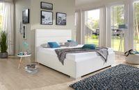 Breckle Polsterbett Range Comfort Kunstleder weiß 180x220 cm – Bild $_i