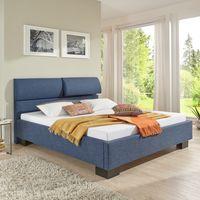 Breckle Polsterbett Steere Bavaria Stoff blau 160x220 cm – Bild $_i