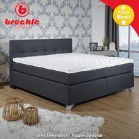 Breckle Boxspringbett Arga Best 180x200 cm inkl. Gel-Topper Bild 2