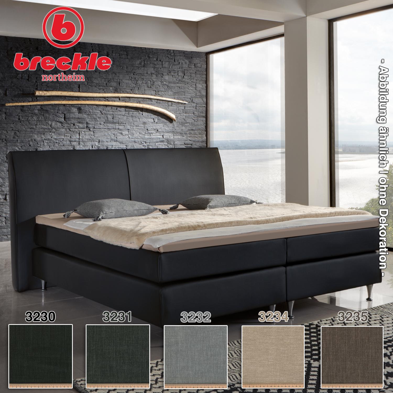 Breckle Boxspringbett Paris 2 200x200 Cm Matratzen Online Kaufen Im Shop Von Matratzenunion