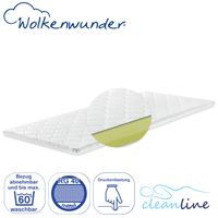 Wolkenwunder Cleanline Basic Viscoschaum-Topper medium