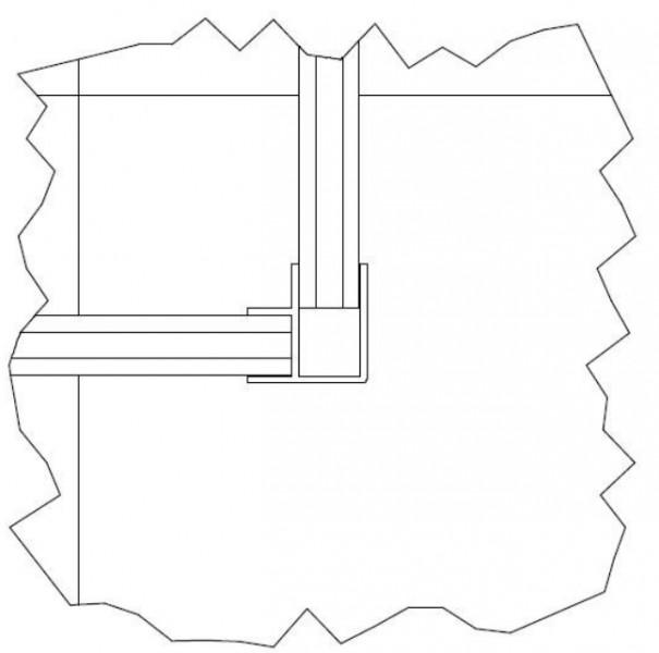k chensockel eckverbinder edelstahl ceres webshop. Black Bedroom Furniture Sets. Home Design Ideas